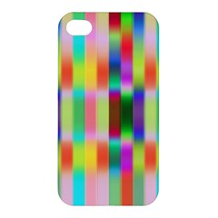 Multicolored Irritation Stripes Apple Iphone 4/4s Premium Hardshell Case