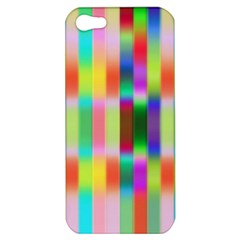 Multicolored Irritation Stripes Apple Iphone 5 Hardshell Case