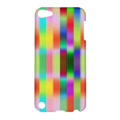 Multicolored Irritation Stripes Apple Ipod Touch 5 Hardshell Case
