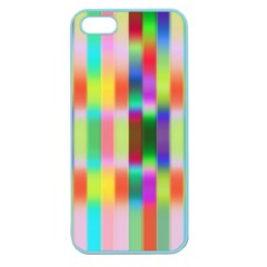 Multicolored Irritation Stripes Apple Seamless Iphone 5 Case (color)