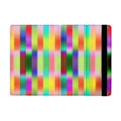 Multicolored Irritation Stripes Apple Ipad Mini Flip Case