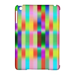 Multicolored Irritation Stripes Apple Ipad Mini Hardshell Case (compatible With Smart Cover)
