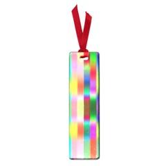 Multicolored Irritation Stripes Small Book Marks