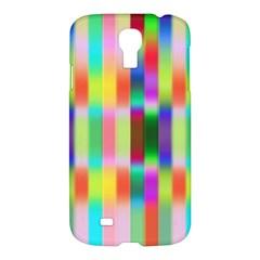 Multicolored Irritation Stripes Samsung Galaxy S4 I9500/i9505 Hardshell Case