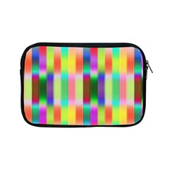 Multicolored Irritation Stripes Apple Ipad Mini Zipper Cases by designworld65