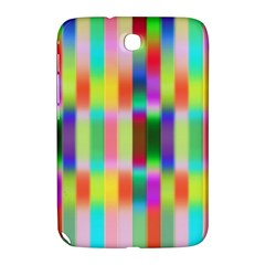 Multicolored Irritation Stripes Samsung Galaxy Note 8 0 N5100 Hardshell Case