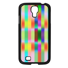 Multicolored Irritation Stripes Samsung Galaxy S4 I9500/ I9505 Case (black)