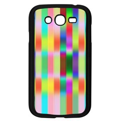 Multicolored Irritation Stripes Samsung Galaxy Grand Duos I9082 Case (black)