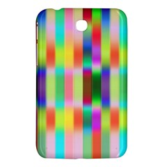 Multicolored Irritation Stripes Samsung Galaxy Tab 3 (7 ) P3200 Hardshell Case