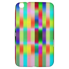 Multicolored Irritation Stripes Samsung Galaxy Tab 3 (8 ) T3100 Hardshell Case