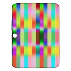 Multicolored Irritation Stripes Samsung Galaxy Tab 3 (10 1 ) P5200 Hardshell Case