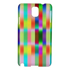 Multicolored Irritation Stripes Samsung Galaxy Note 3 N9005 Hardshell Case