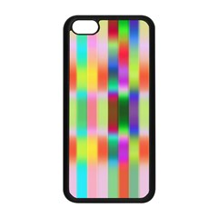 Multicolored Irritation Stripes Apple Iphone 5c Seamless Case (black)