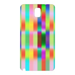 Multicolored Irritation Stripes Samsung Galaxy Note 3 N9005 Hardshell Back Case