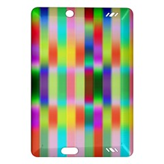 Multicolored Irritation Stripes Amazon Kindle Fire Hd (2013) Hardshell Case by designworld65