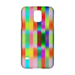 Multicolored Irritation Stripes Samsung Galaxy S5 Hardshell Case