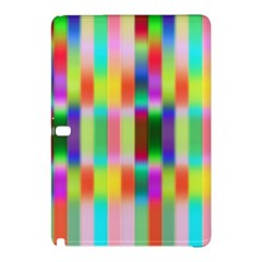 Multicolored Irritation Stripes Samsung Galaxy Tab Pro 10 1 Hardshell Case