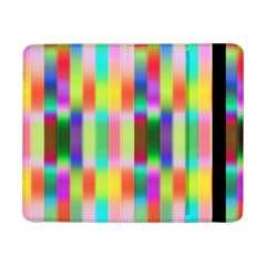 Multicolored Irritation Stripes Samsung Galaxy Tab Pro 8 4  Flip Case by designworld65