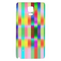 Multicolored Irritation Stripes Galaxy Note 4 Back Case by designworld65