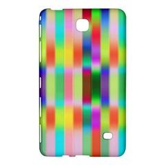 Multicolored Irritation Stripes Samsung Galaxy Tab 4 (7 ) Hardshell Case  by designworld65