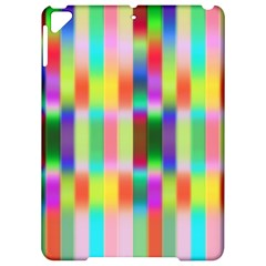 Multicolored Irritation Stripes Apple Ipad Pro 9 7   Hardshell Case by designworld65