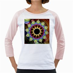 Love Energy Mandala Girly Raglans