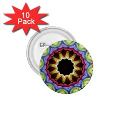 Love Energy Mandala 1 75  Buttons (10 Pack)