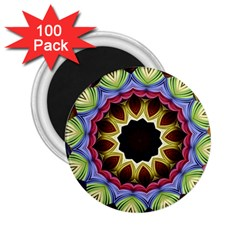 Love Energy Mandala 2 25  Magnets (100 Pack)