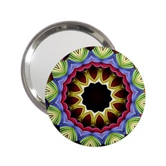 Love Energy Mandala 2 25  Handbag Mirrors