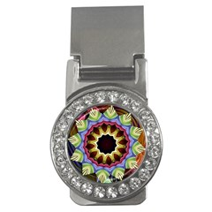 Love Energy Mandala Money Clips (cz)