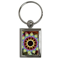 Love Energy Mandala Key Chains (rectangle)