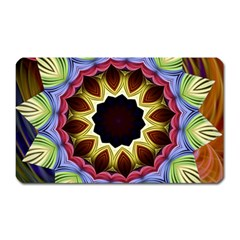 Love Energy Mandala Magnet (rectangular)