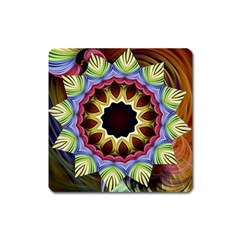 Love Energy Mandala Square Magnet