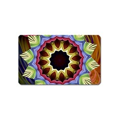 Love Energy Mandala Magnet (name Card)