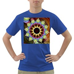 Love Energy Mandala Dark T Shirt