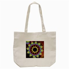 Love Energy Mandala Tote Bag (cream)