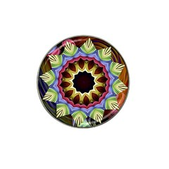 Love Energy Mandala Hat Clip Ball Marker (4 Pack)