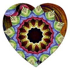 Love Energy Mandala Jigsaw Puzzle (heart)