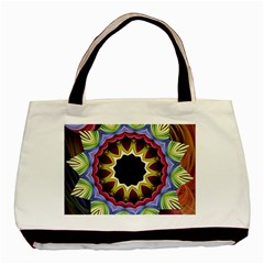 Love Energy Mandala Basic Tote Bag