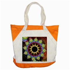 Love Energy Mandala Accent Tote Bag