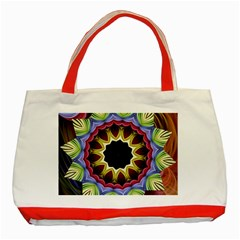 Love Energy Mandala Classic Tote Bag (red)