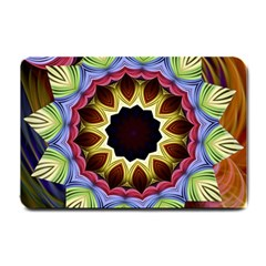 Love Energy Mandala Small Doormat