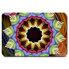 Love Energy Mandala Large Doormat