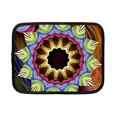 Love Energy Mandala Netbook Case (small)
