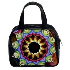 Love Energy Mandala Classic Handbags (2 Sides)