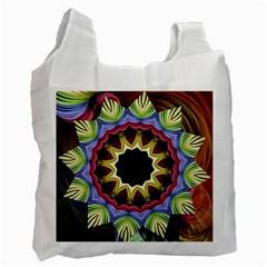 Love Energy Mandala Recycle Bag (one Side) by designworld65