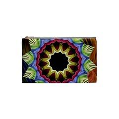 Love Energy Mandala Cosmetic Bag (small)