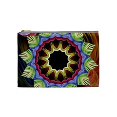 Love Energy Mandala Cosmetic Bag (medium)