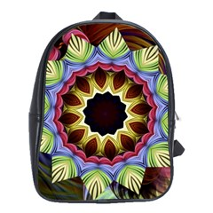 Love Energy Mandala School Bag (large)