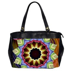 Love Energy Mandala Office Handbags (2 Sides)